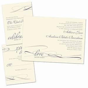 everlasting love separate and send invitation ann39s With wedding invitations separate and send