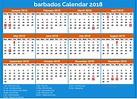 Download Barbados calendar 2018 with holidays - 2018 ...
