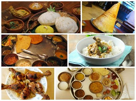 different indian cuisines a plate of indian food from 7 different states