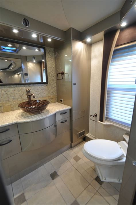glamorous rv bathrooms   planet