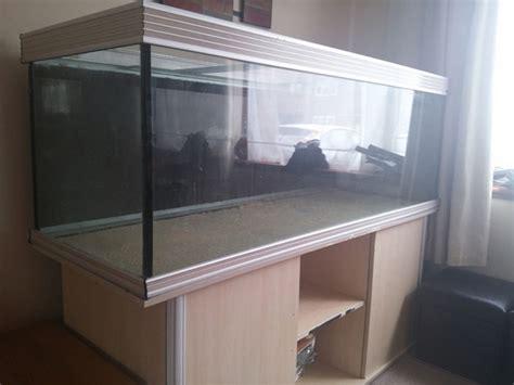 aquarium 600 l occasion aqua one aquience 1800r oak 6 foot 600 litre aquarium stand ebay