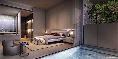 Cluny Park Residence  Modern #bedroom #suite Singapore