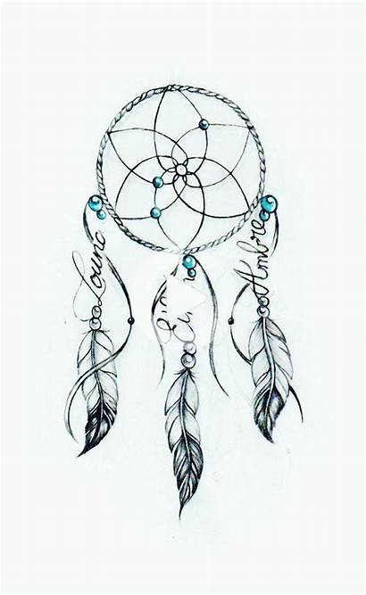 Dream Tattoo Drawing Catcher Simple Dessin Drawings