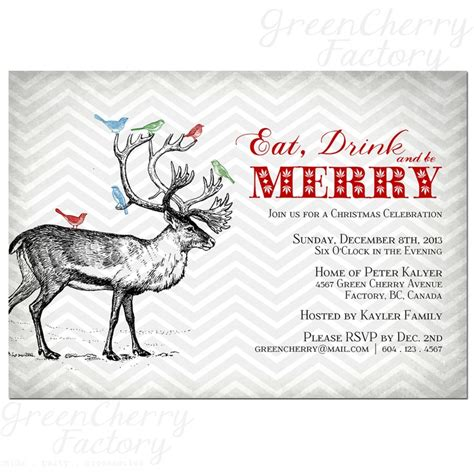 30 best images about christmas invitations on pinterest