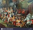 The battle of Pavia 1525 Stock Photo: 76393445 - Alamy