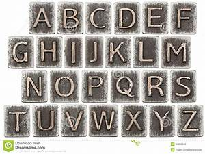 metal letters stock photo image 34850840 With white metal letters