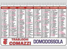 calendarietti 2019 tascabili semestrini 2019