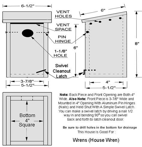 wren house plans bluebird house plans bird house kits bird house plans