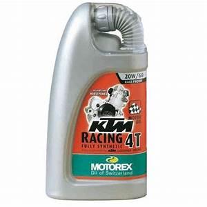 Huile Moteur Moto : huile moteur motorex ktm racing 4t 20w60 1l entretien ~ Melissatoandfro.com Idées de Décoration