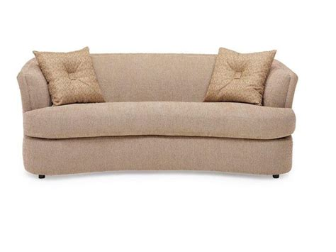 Microfiber Sofas Pros And Cons by Light Beige Microfiber Cushion Sofa With Sloped Arms