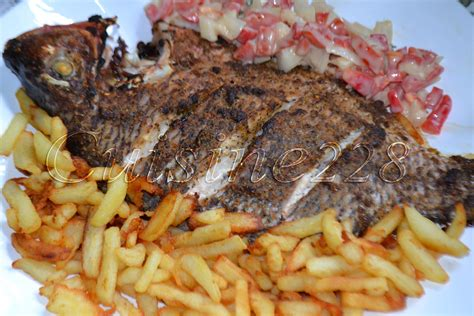 poisson cuisiné poisson au four poisson braise cameroun