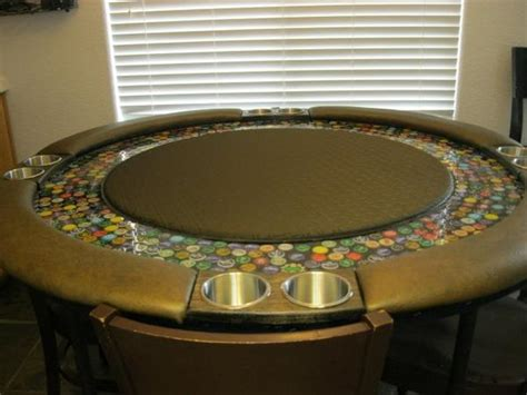 beer cap table epoxy byopt poker tables on twitter quot poker table top made with