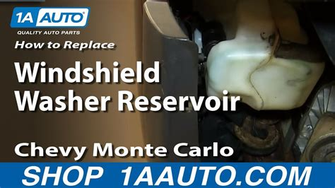 replace windshield washer reservoir   chevy