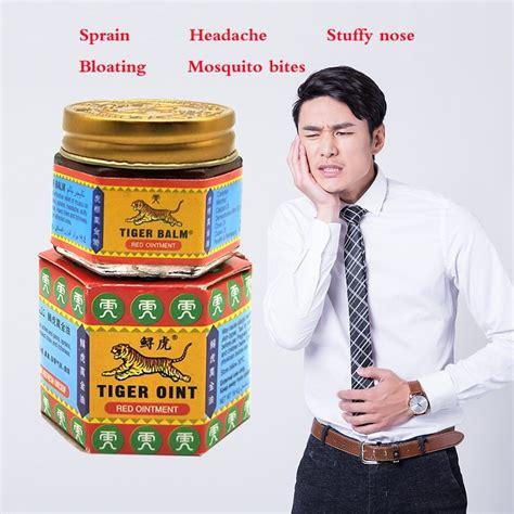 Super Promotion Oriģināls Dabas Red Tiger Balm Taizeme ...