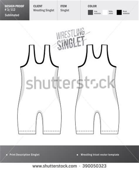 Singlet Design Template by Singlet Stock Images Royalty Free Images Vectors