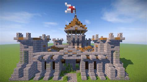 small minecraft castle tutorial survival castle youtube