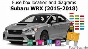 Fuse Box Location And Diagrams  Subaru Wrx  2015-2018