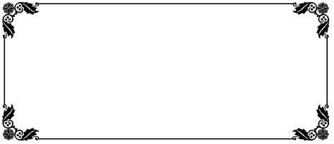 gambar bingkai bunga hitam putih  undangan gratis