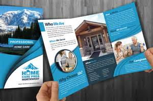 care design home care pros nw brochure design outdoor advertising and design agency custom