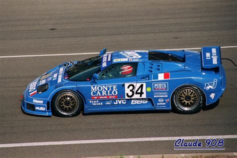 A set of regulations for 1994 24 hours of le mans basically allowed production cars to enter the race. The Bugatti EB110   Bugatti veyron, Bugatti, Voiture de course