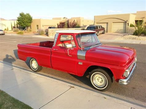 purchase   chevy  custom cab short bed truck