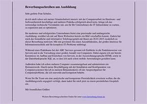 Wie Schreibt Man Engagement : bewerbungsschreiben muster f r die erstellung ~ Yasmunasinghe.com Haus und Dekorationen