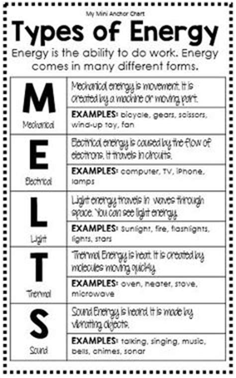 forms of energy pdf sound energy worksheets energy resources worksheet