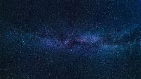 Wallpaper Starry Sky Milky Way Stars Space