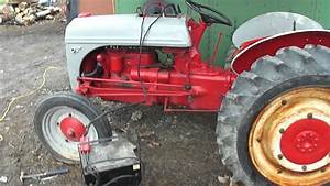 Starting 1942 Ford 9n Tractor After Sitting All Winter