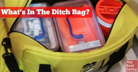 Boat Safety Ditch Bag by The Ditch Bag