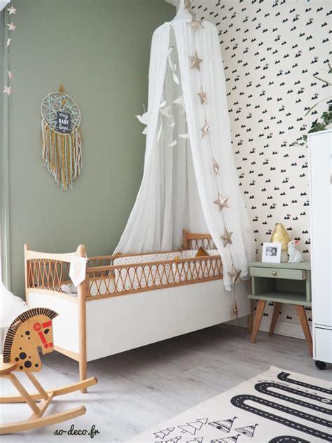 papier peint chambre bebe une chambre de bébé avant après