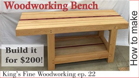 extreme woodworking bench