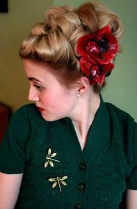 40's updo - a photo on Flickriver