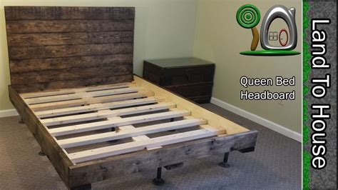 How To Make A Bed Frame With Headboard And Footboard by Diy Headboard For A Size Bed