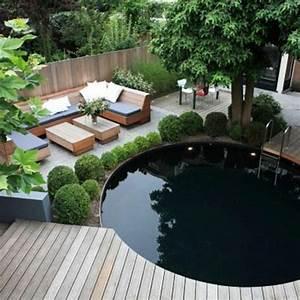 schoner garten und toller balkon gestalten ideen und With französischer balkon mit pool ideen für kleinen garten