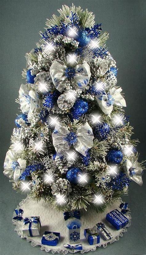 blue christmas tree decorations ideas lollipop