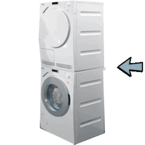 waschmaschine auf trockner zwischenbaurahmen waschmaschinenaufsatz trockner auf waschmaschine aufsetzrahmen