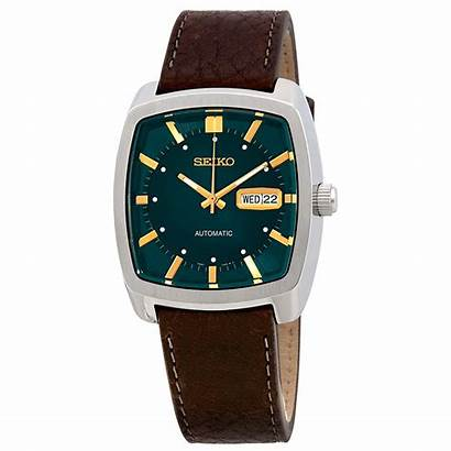 Seiko Recraft Automatic Mens Dial Leather Brown