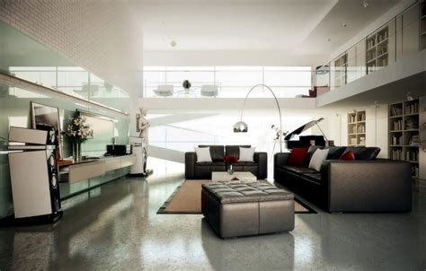 Spacious Modern Living Trends by Spacious Modern Living Trends Interior Design Ideas