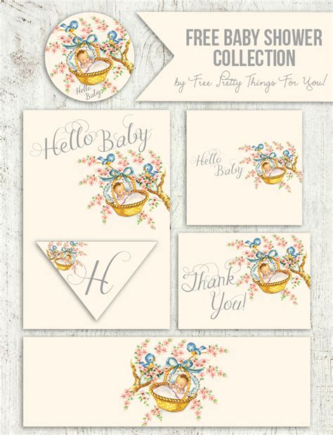 Free Baby Shower Printable - 50 free baby shower printables for a