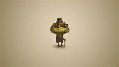 Sesame Street Oscar Grouch Wallpapers Desktop Gentleman