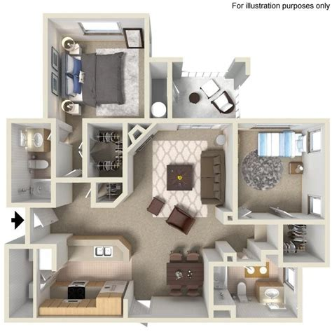 3 Bedroom Apartments In San Diego by 1 2 3 Bedroom Apartments For Rent In San Diego Casoleil