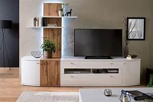 Wohnwand Weiß Holz : mca livorno wohnwand in wei mit absetzungen in wotan ~ A.2002-acura-tl-radio.info Haus und Dekorationen