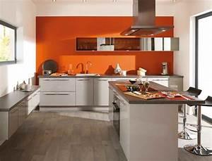 Couleur Cuisine Moderne : couleur de cuisine tendance trendy glamour couleur facade ~ Melissatoandfro.com Idées de Décoration