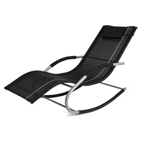chaise bascule pas cher chaise longue transat a bascule achat vente chaise