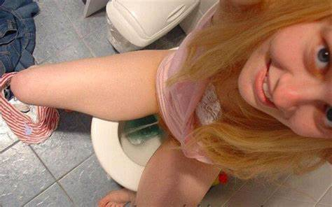 Adorable Piss Violated Girls Plays In Urine