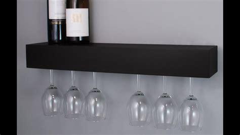 wine glass shelves design youtube