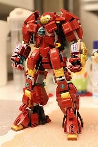 Menacing Custom Made LEGO HULKBUSTER Armor | News, Armors ...