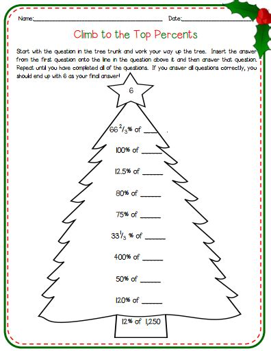 fun christmas ideas for the middle school math classroom math in the middle