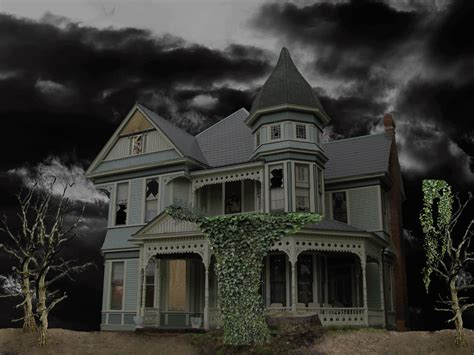 Haunted House Wallpaper Animated - animated haunted house wallpaper wallpapersafari